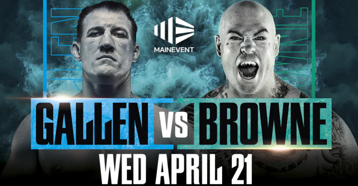 Gallen vs Browne Live